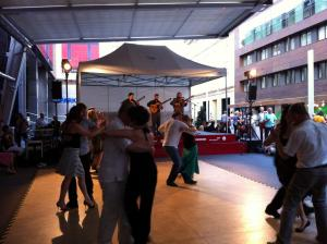 Open Air Milonga Sparkassenplatz